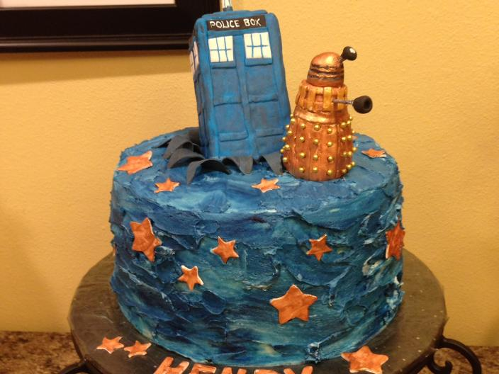 Dr Who Cake